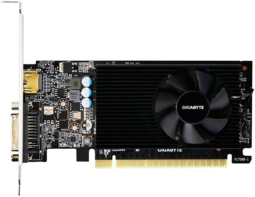 GIGABYTE GeForce GT 710 1GB PCI Express X8 Graphics Card